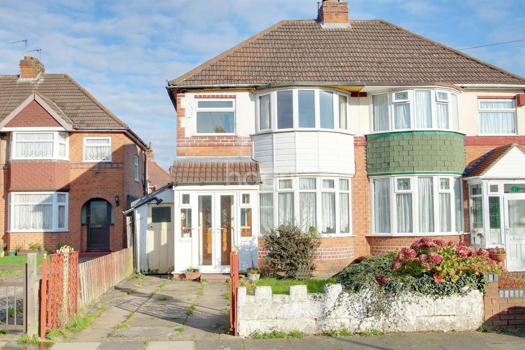 3 Bedrooms Semi Detached House for sale in Kingshurst Road, Northfield, Birmingham