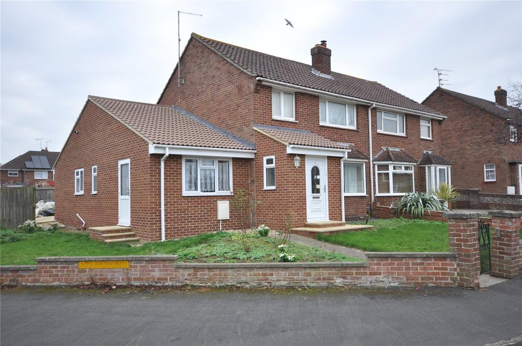 3 Bedrooms Semi Detached House for sale in Elmswood Close, Stratton, Swindon, Wiltshire, SN2