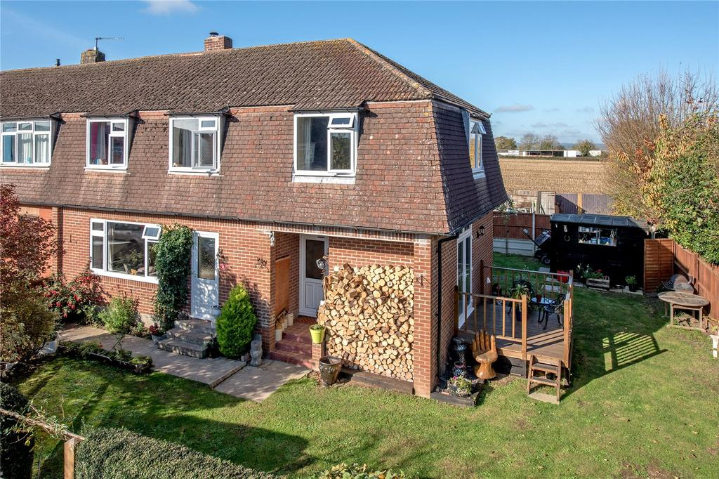 4 Bedrooms End Of Terrace House for sale in Town Close, North Curry, Taunton, Somerset