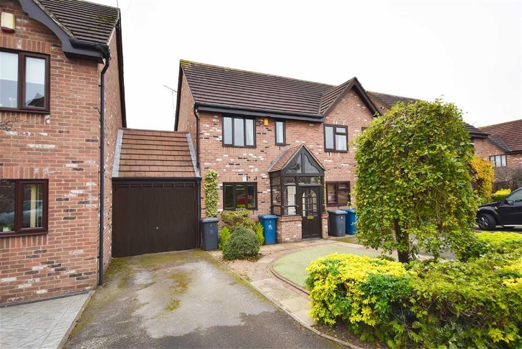 2 Bedrooms Semi Detached House for sale in Bampton Court, Gamston