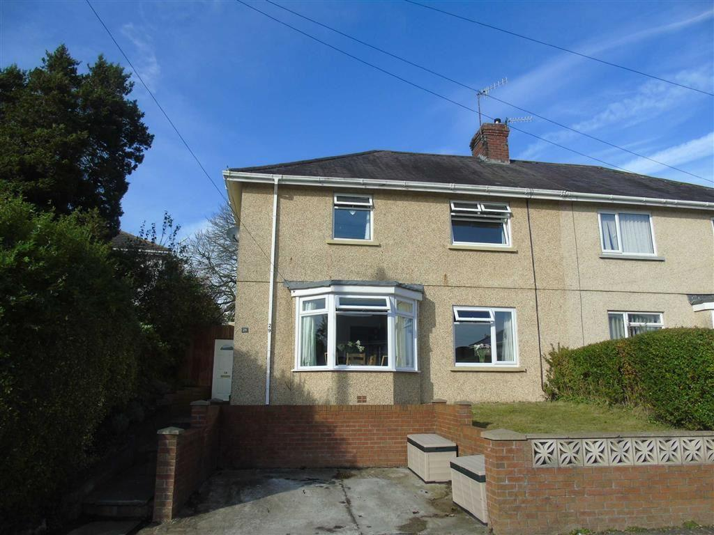 3 Bedrooms Semi Detached House for sale in Lliedi Crescent, Llanelli
