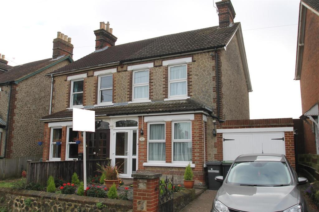 3 Bedrooms Semi Detached House for sale in London Road, Ryarsh, West Malling