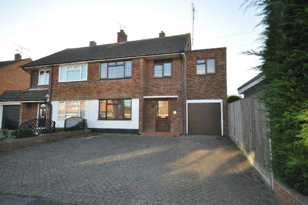 4 Bedrooms Semi Detached House for sale in Rowan Drive, Woodley, Reading,
