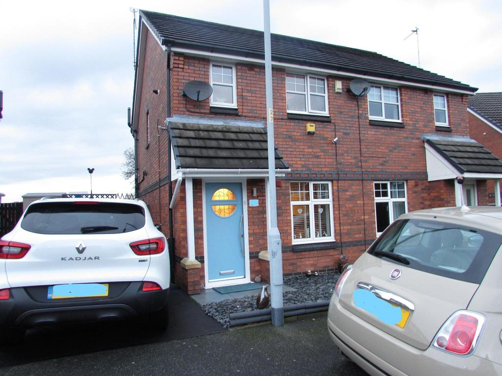 2 Bedrooms Semi Detached House for sale in Haslington Road, Ashway Park, Peel Hall, Manchester, M22