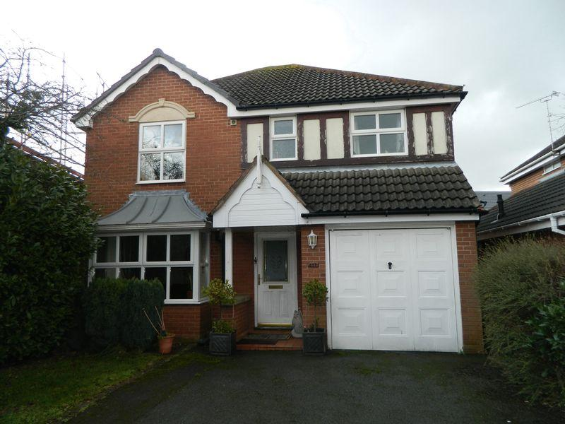 4 Bedrooms Detached House for sale in Forge Fields, Sandbach