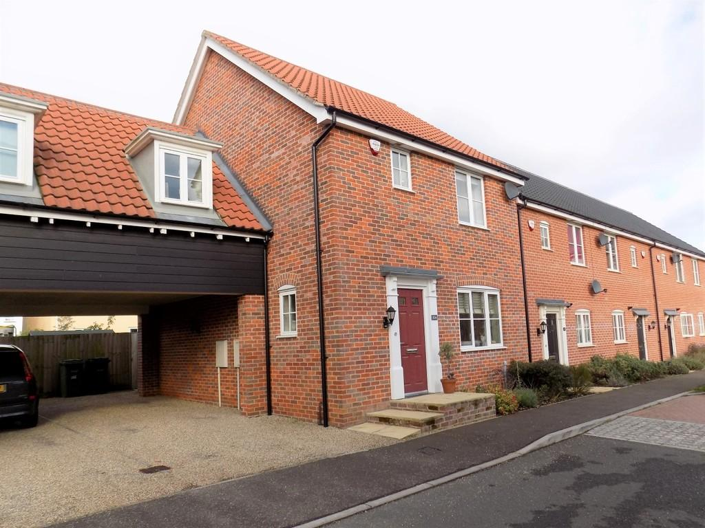 3 Bedrooms End Of Terrace House for sale in Vanguard Chase, Norwich