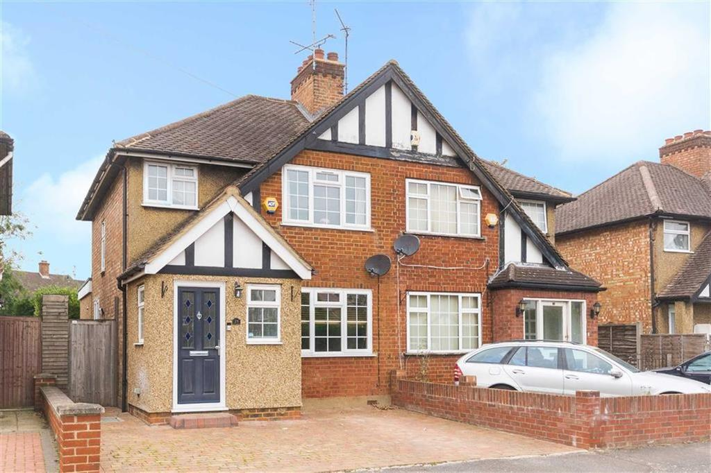 3 Bedrooms Semi Detached House for sale in Glisson Road, Uxbridge