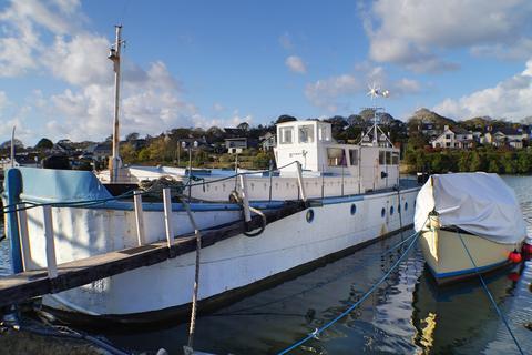 4 bedroom houseboat for sale - Mylor Creek Boatyard, Mylor Creek, Mylor TR11