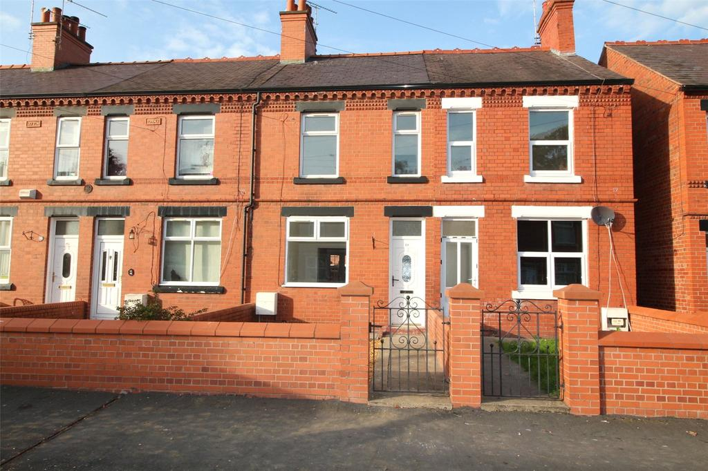 2 Bedrooms Terraced House for sale in Norman Road, Wrexham, LL13