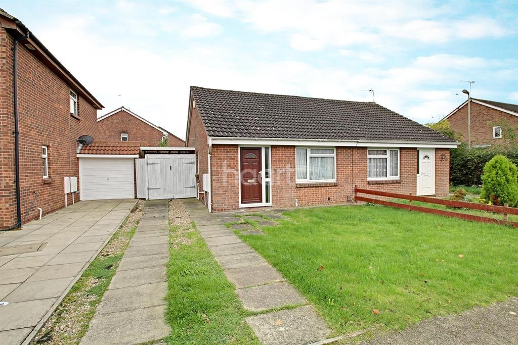 2 Bedrooms Semi Detached House for sale in Heatherbrook Road, Anstey Heights, Leicester