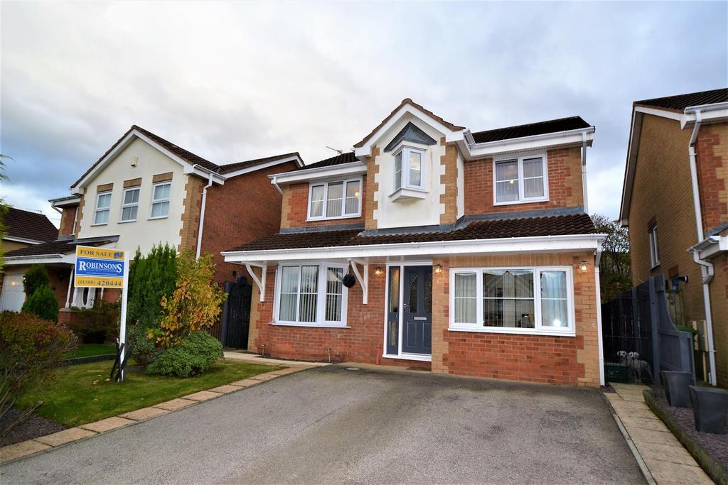 4 Bedrooms Detached House for sale in Lilac Close, Middlestone Moor