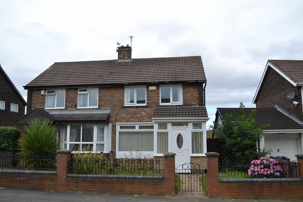 2 Bedrooms Semi Detached House for rent in Bradshaw Street, Town End Farm, Sunderland