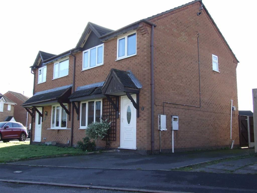 3 Bedrooms Semi Detached House for sale in Girtin Close, Bedworth