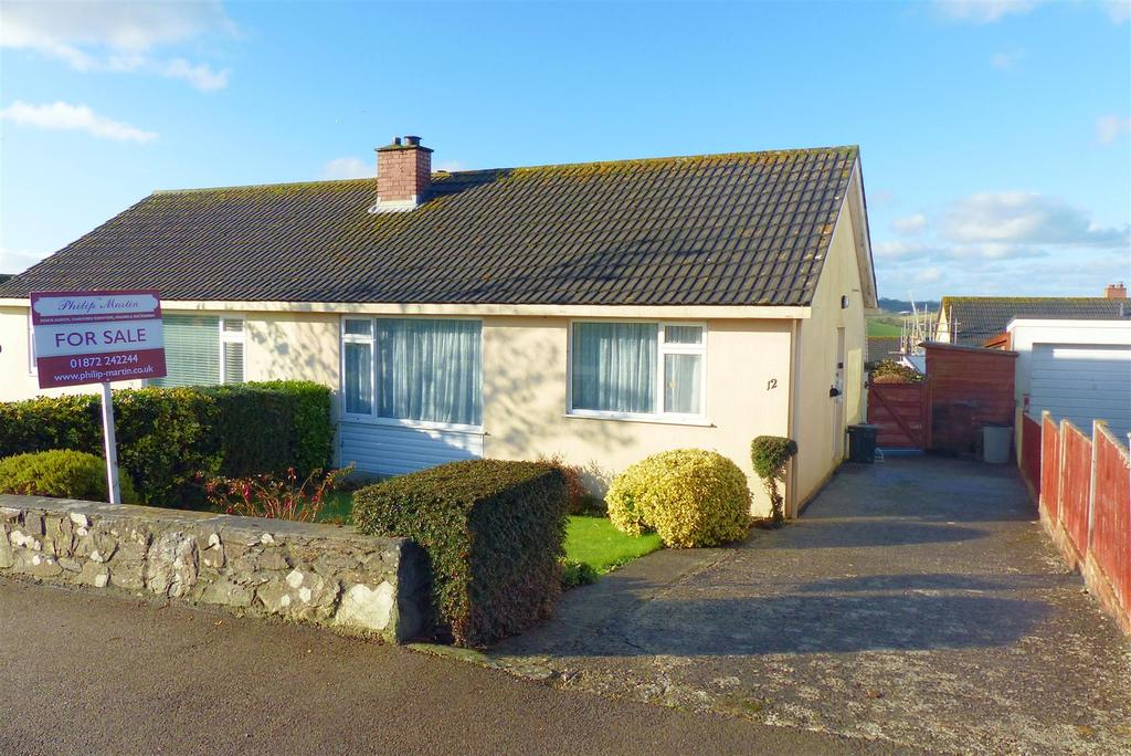 2 Bedrooms Semi Detached Bungalow for sale in Probus, Truro