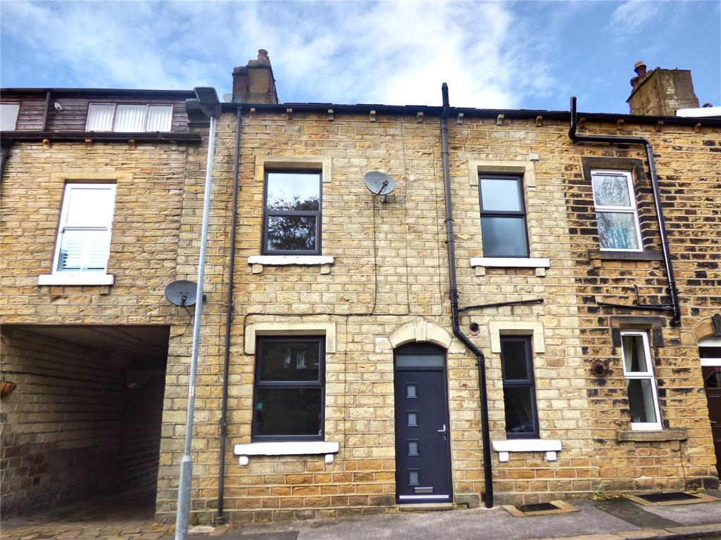 3 Bedrooms Terraced House for sale in Brougham Road, Marsden, Huddersfield, West Yorkshire, HD7