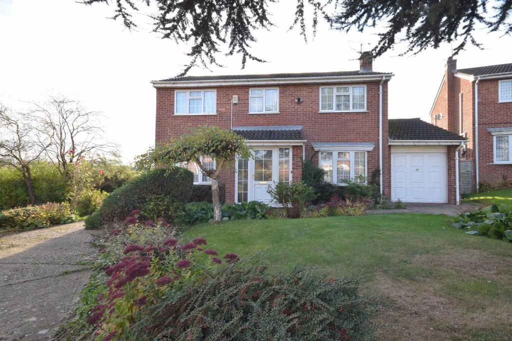 4 Bedrooms Detached House for sale in Foxlands, Desborough, Kettering