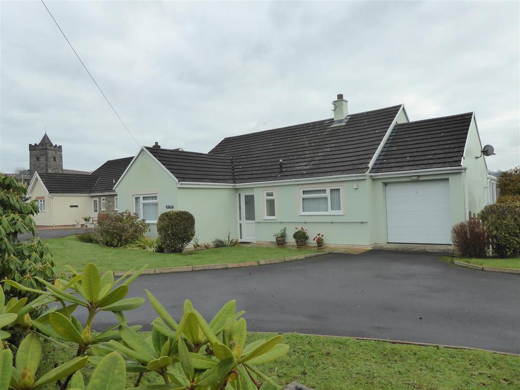 3 Bedrooms Bungalow for sale in Church Lane, Llanarth
