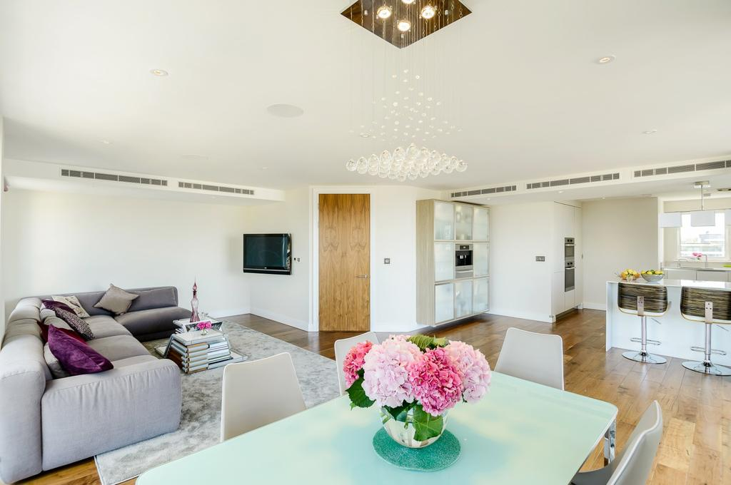 3 Bedrooms Penthouse Flat for rent in Wellesley Terrace, Islington, London, N1