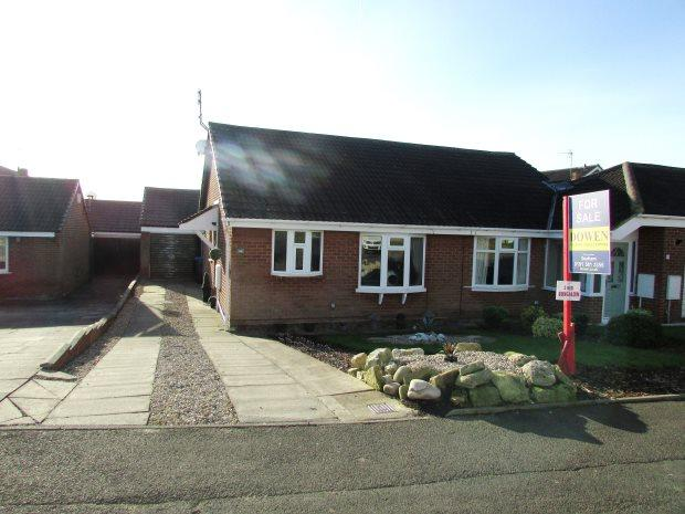 2 Bedrooms Semi Detached Bungalow for sale in ESCALLOND DRIVE, SEAHAM, SEAHAM DISTRICT