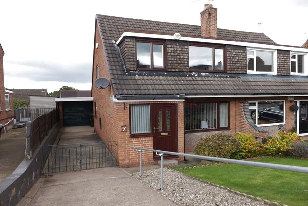 3 Bedrooms Semi Detached House for sale in Tambling Close, Arnold, Nottingham, NG5