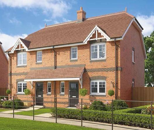 3 Bedrooms Semi Detached House for sale in Montague Green, Whichers Gate Road, Rowlands Castle, PO9