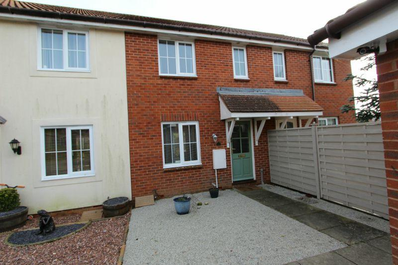 2 Bedrooms Terraced House for sale in WHITEWAY CLOSE, WHIMPLE