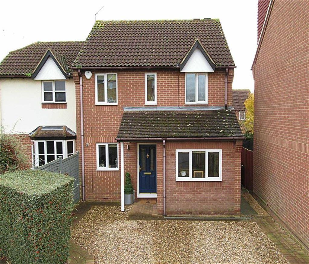 3 Bedrooms Semi Detached House for sale in Reynard Way, Hertford, Herts, SG13
