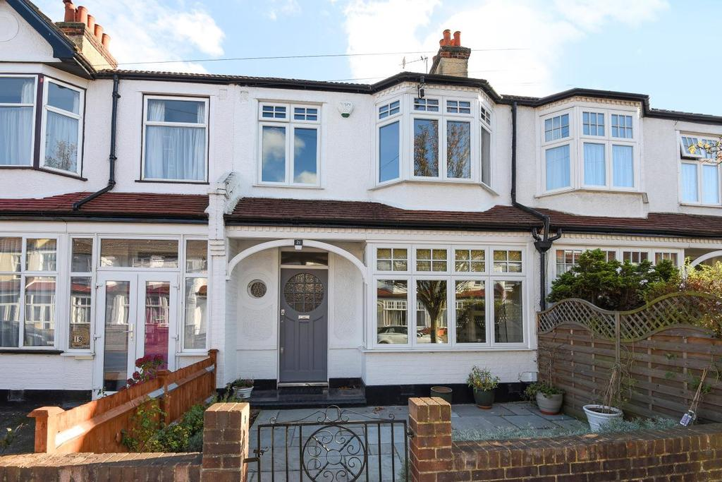 4 Bedrooms Terraced House for sale in Abbott Avenue, Raynes Park