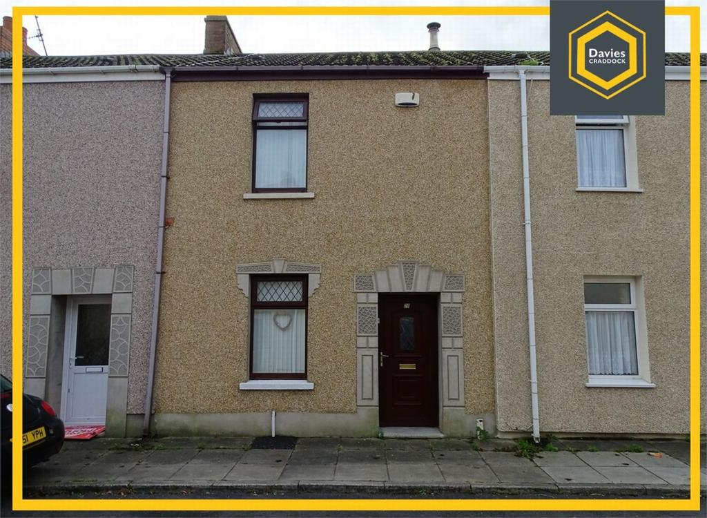 2 Bedrooms Terraced House for sale in 28 Caroline Street, Llanelli, Carmarthenshire