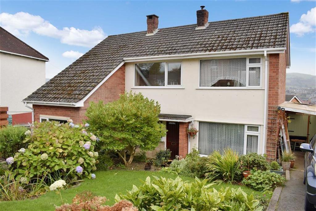 4 Bedrooms Detached House for sale in Bron Y Gan, Bryn Gardens, Bryn Gardens, Newtown, Powys, SY16