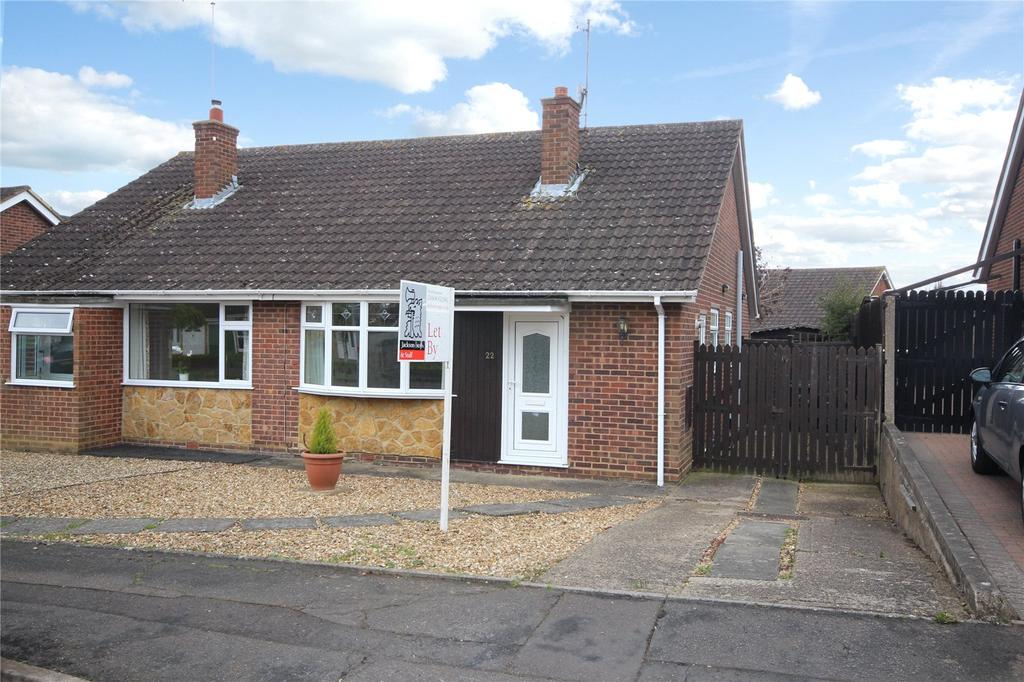 2 Bedrooms Semi Detached Bungalow for sale in Draycott Close, Abington Vale, Northampton, NN3