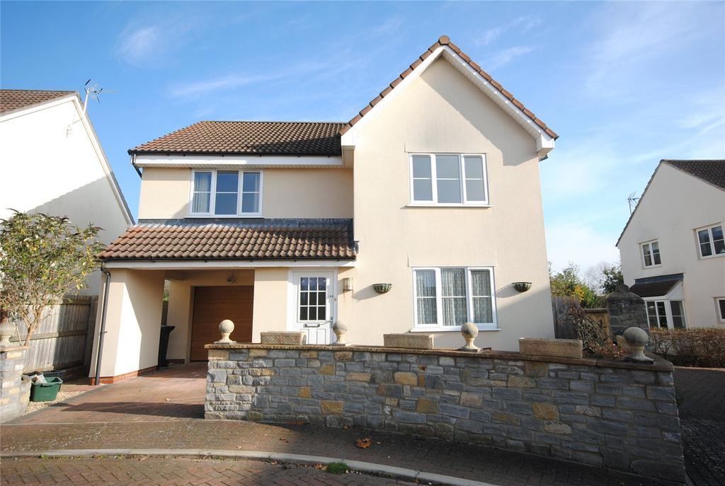 4 Bedrooms Detached House for sale in Hopwoods Corner, Cheddar, Somerset, BS27