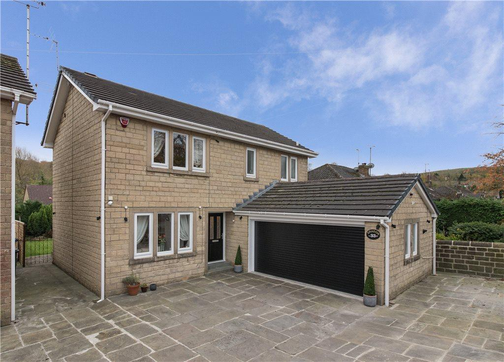 4 Bedrooms Detached House for sale in Halifax Road, Cullingworth, Bradford, West Yorkshire