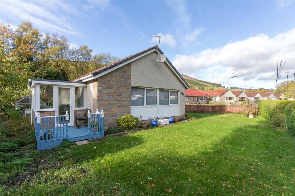 2 Bedrooms Detached Bungalow for sale in Firholme, Nursery Park, Innerleithen, Scottish Borders