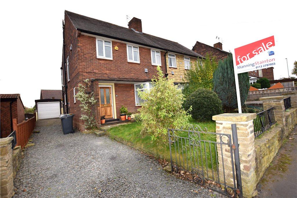 3 Bedrooms Semi Detached House for sale in Cockshott Lane, Leeds, West Yorkshire