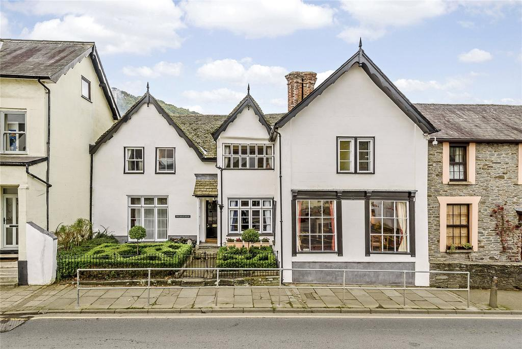 5 Bedrooms Town House for sale in Bridge Street, Knighton, Powys
