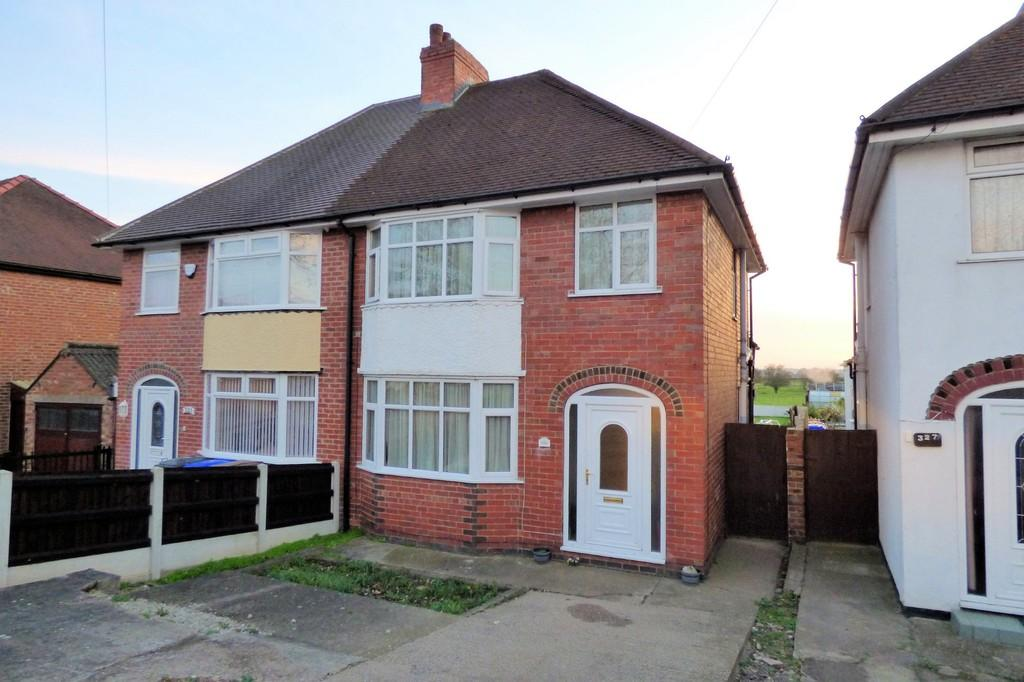 4 Bedrooms Semi Detached House for sale in Stanton Road, Burton-on-Trent