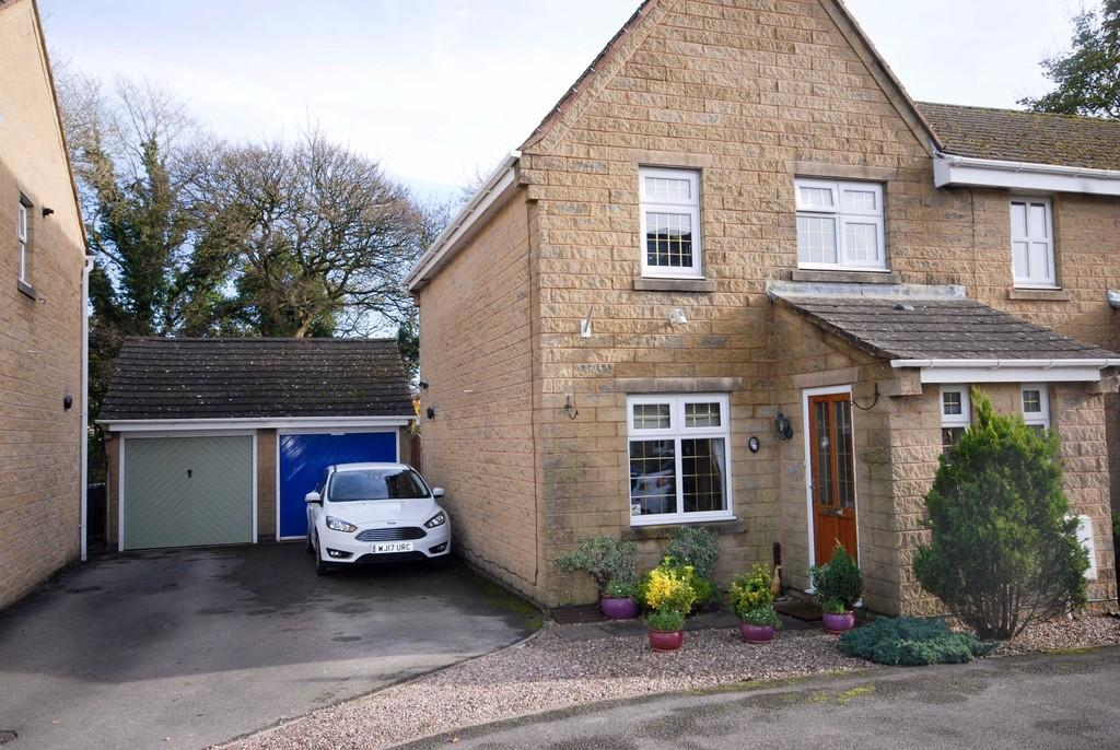 3 Bedrooms Semi Detached House for sale in Solomons View, Buxton