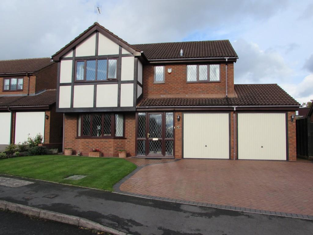 4 Bedrooms Detached House for sale in Perryford Drive, Solihull