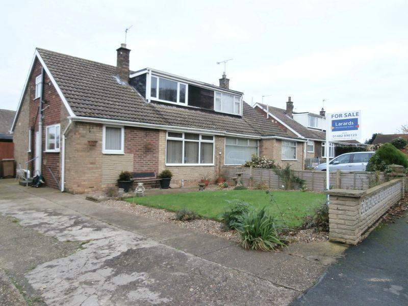 3 Bedrooms Semi Detached Bungalow for sale in Marritt Way, Keyingham