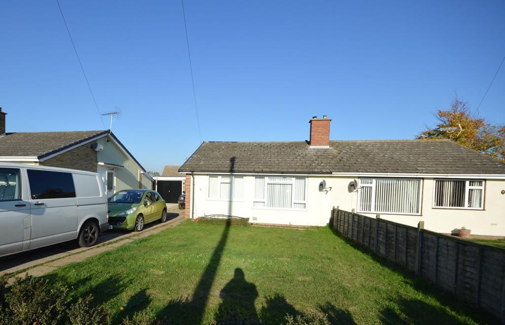 2 Bedrooms Semi Detached Bungalow for sale in Ash Grove, Wivenhoe
