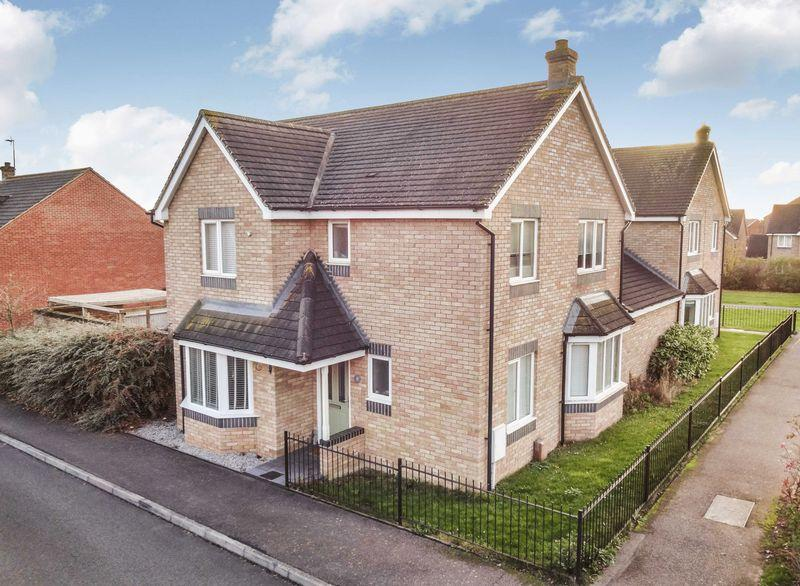 4 Bedrooms Detached House for sale in Belvoir Close, Oakley Vale, Corby
