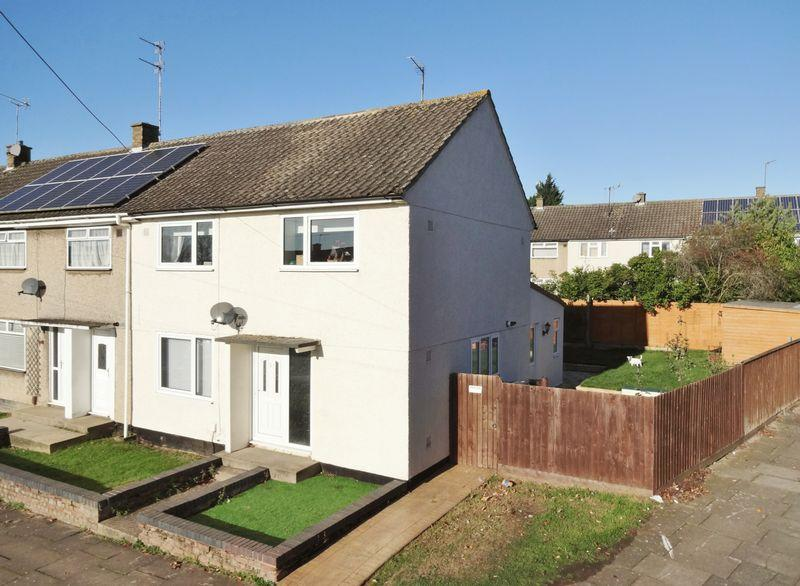 3 Bedrooms End Of Terrace House for sale in Cameron Court, Corby