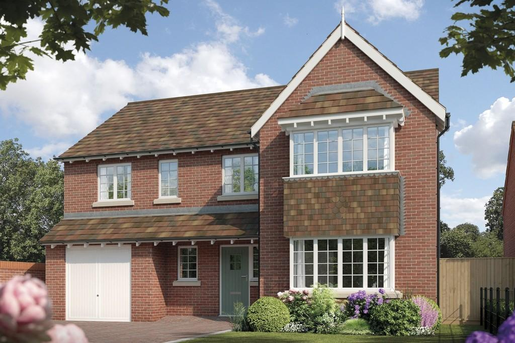 4 Bedrooms Detached House for sale in Fulford Hall Road, Tidbury Green