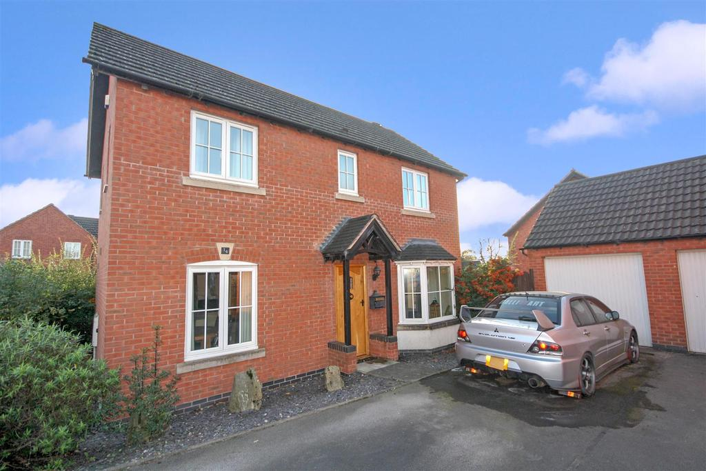 3 Bedrooms Detached House for sale in Churchfields, St. Martins, Oswestry