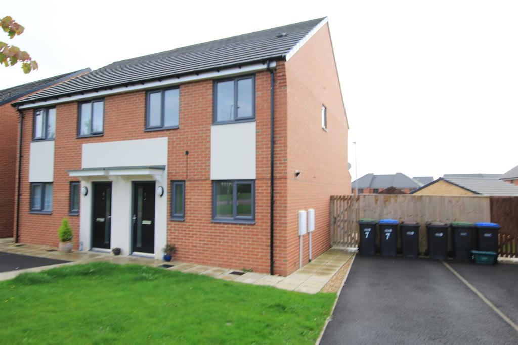 3 Bedrooms Semi Detached House for sale in Wellhouse Road, Newton Aycliffe