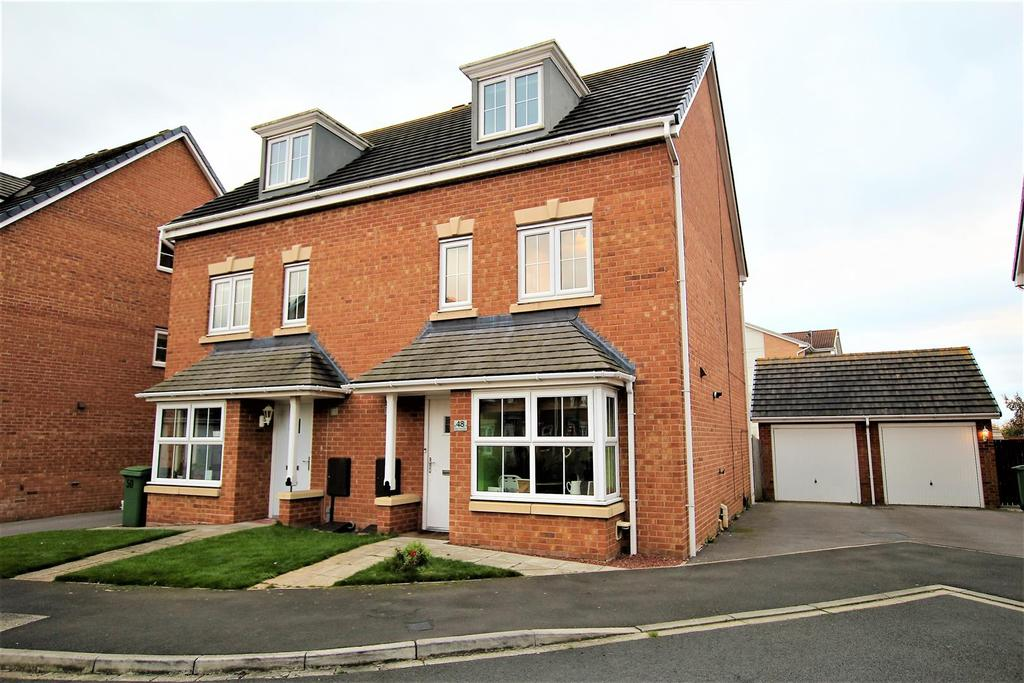 4 Bedrooms Semi Detached House for sale in Water Avens Way, Stockton-On-Tees