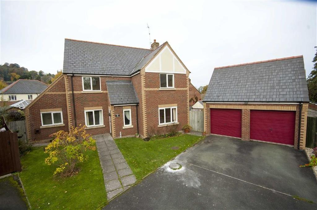 4 Bedrooms Detached House for sale in Corndon Drive, Montgomery, Powys, SY15