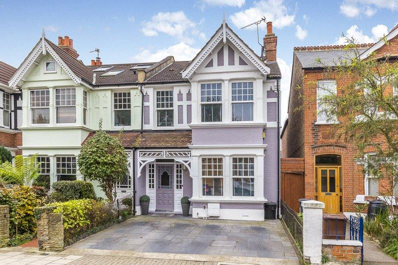 4 Bedrooms Semi Detached House for sale in Oxford Road South, Chiswick, London, W4