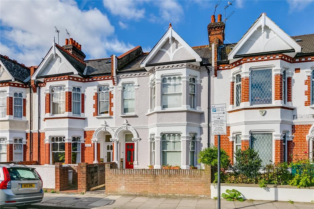 4 Bedrooms Terraced House for sale in Harbord Street, Bishops Park, Fulham, London
